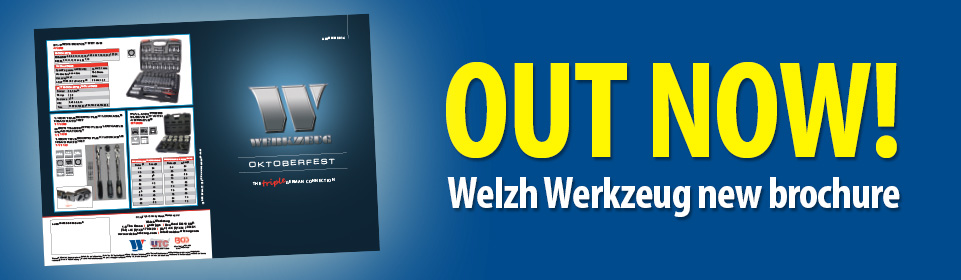 OUT NOW - Welzh Werkzeug new brochure